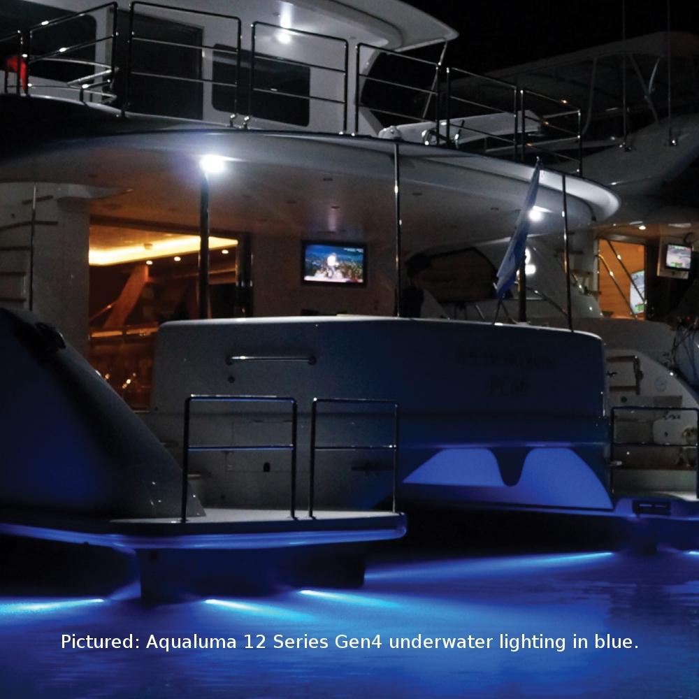 Aqualuma 12 Series Gen 4 Led Thru Hull Underwater Light In