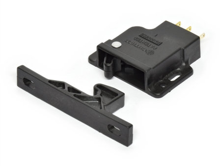 Southco grabber catch latch with integral microswitch for RVs and Boats