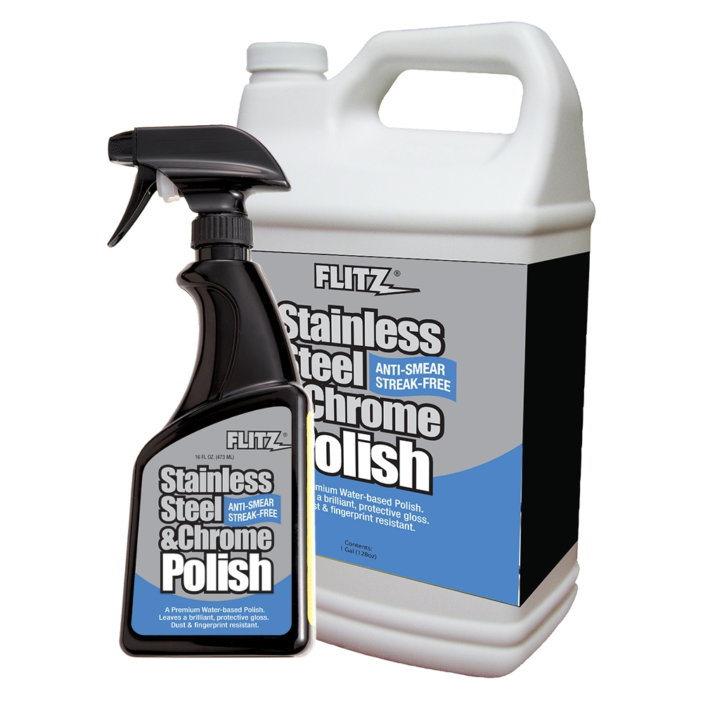 Flitz Stainless Steel Amp Chrome Polish