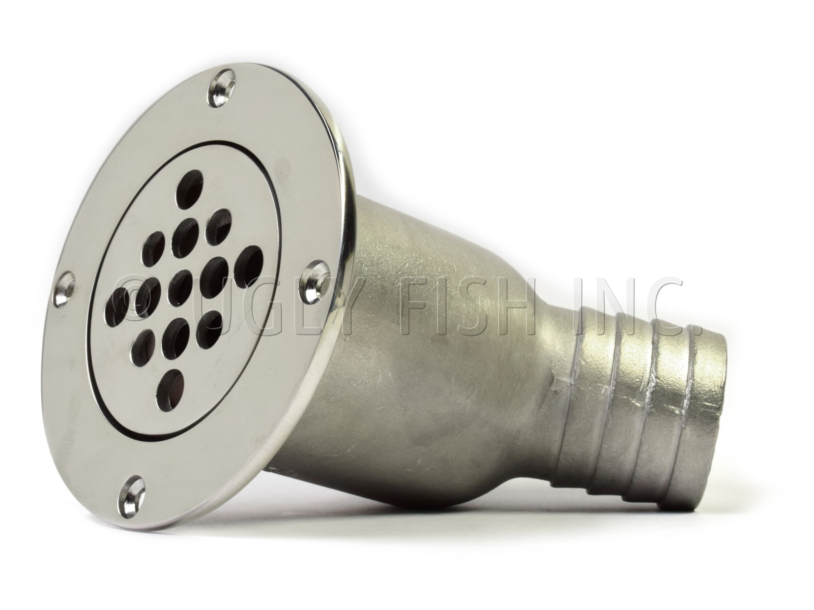 Southco Shower Deck Drain With A 45 194 176 1 5 Quot Barb Hose Fitting
