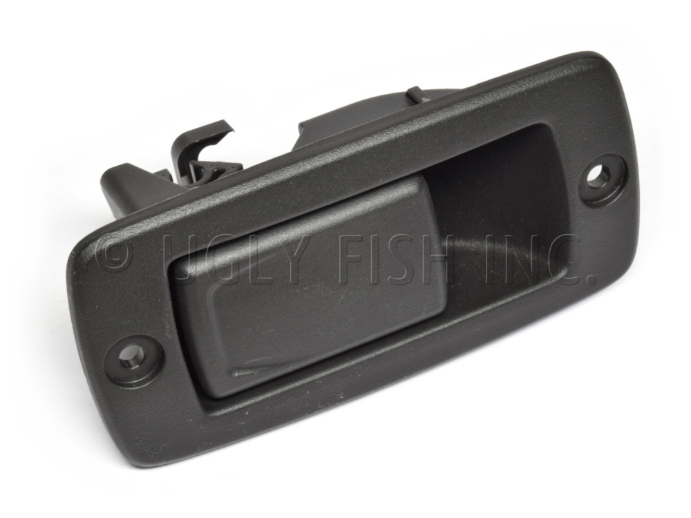 Southco Paddle Black Plastic Actuator For Remote Actuation