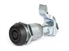 Southco E3 series vise action compression latches with tool operated head and adjustable grip.