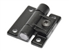 Southco marine adjustable torque hinge in black and white finishes
