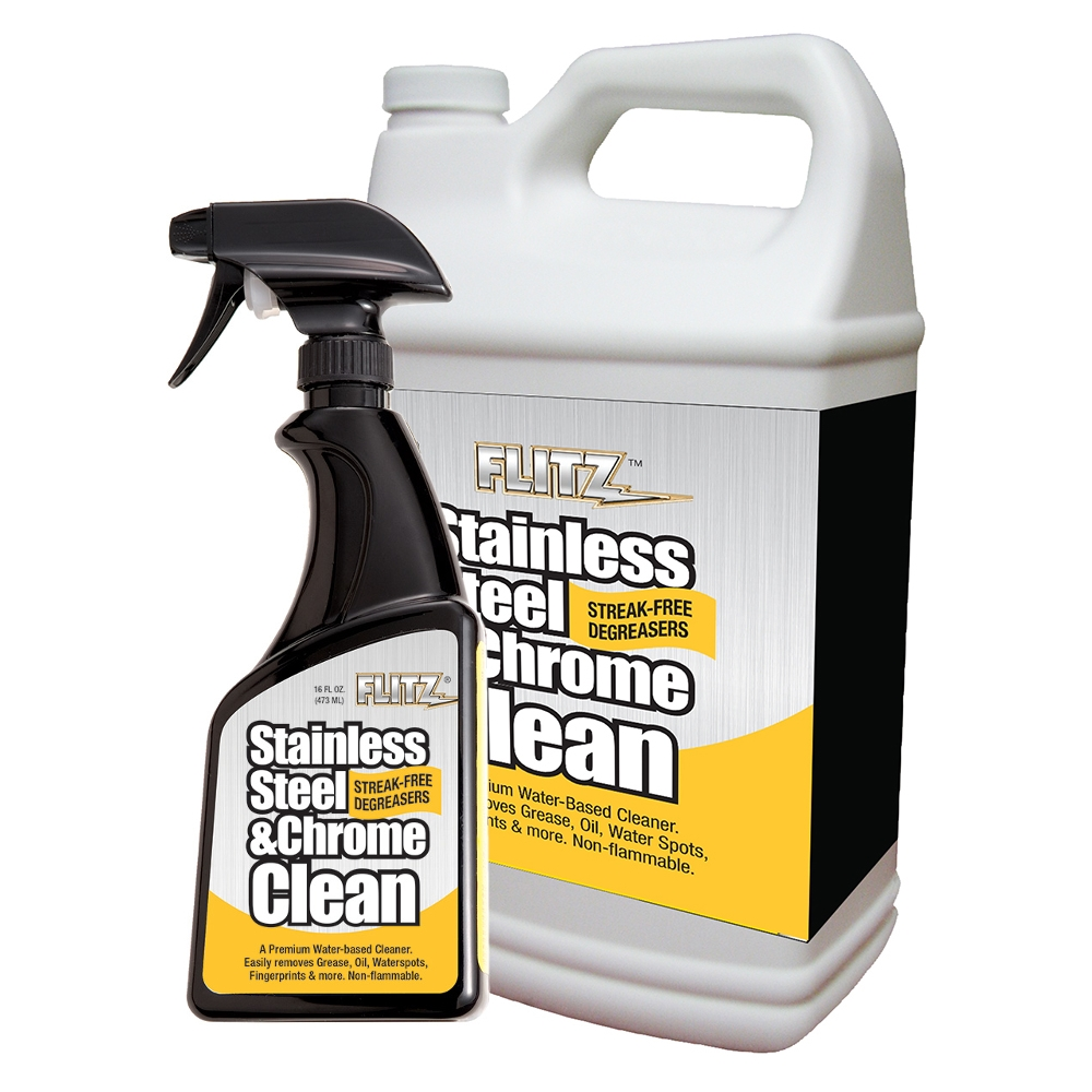 Flitz Stainless Steel Amp Chrome Cleaner Degreaser