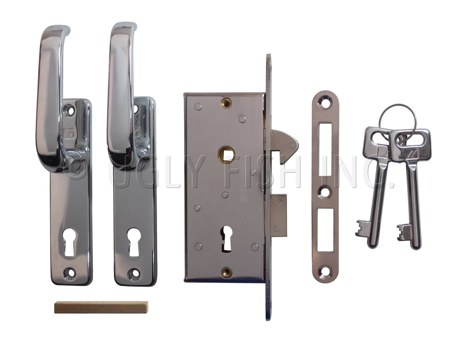 MC-99-2-7302 Mobella Slim Sliding Door Latch