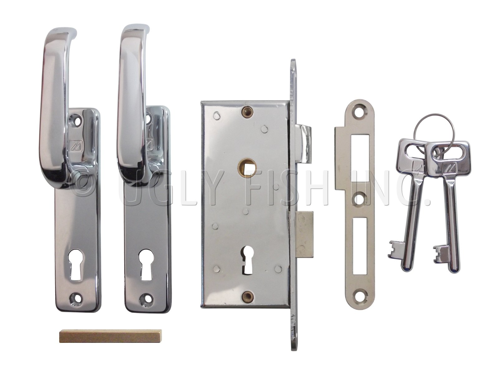 Sliding Cabinet Door Hardware Mc 99 2 73x2 Mobella Slim Swinging Door Latch