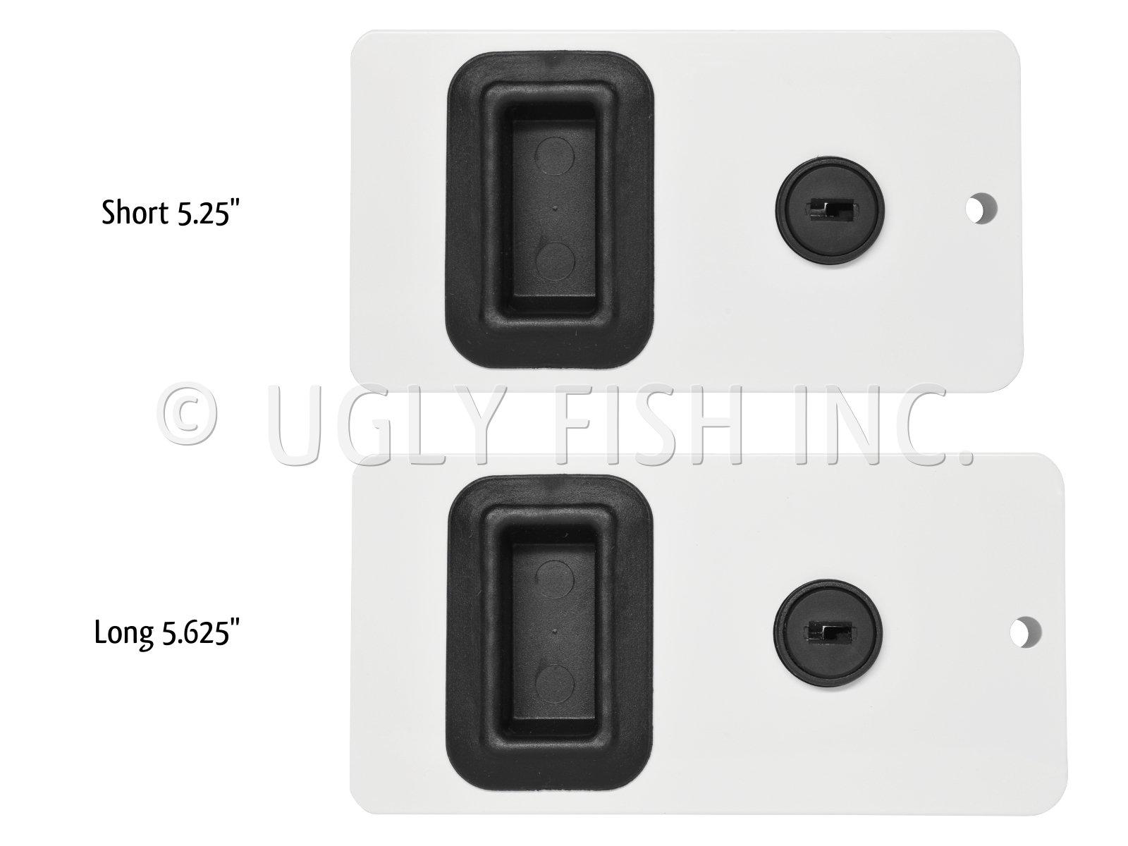 NEW SOUTHCO BOAT BLACK SEALED SLIDING CABIN ENTRY DOOR LATCH LOCK MF-02-110-50