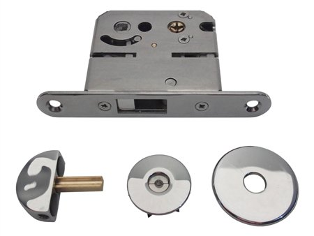 Southco Mobella MG-04-532-10 Single Star entry door latch, with a marine grade 316 stainless steel finish.