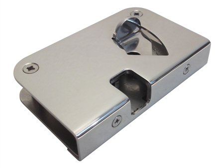 Southco MG-05-733-24 Star Sailor entry door latch, with a marine grade 316 stainless steel finish.