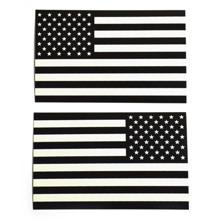 US Flag Decals